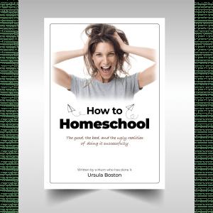 How To Homeschool E-Book Cover